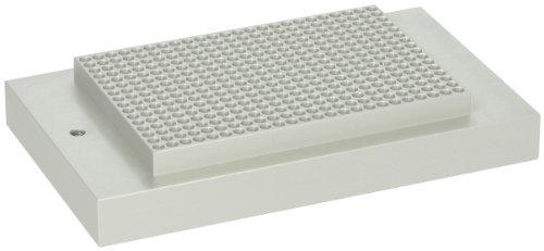 Labnet D12384 Aluminum Dry Bath Dual Block, Holds 384 Well PCR -
