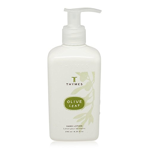 Thymes-Hand-Lotion-Olive-Leaf-825-ounce-Pump-Bottle