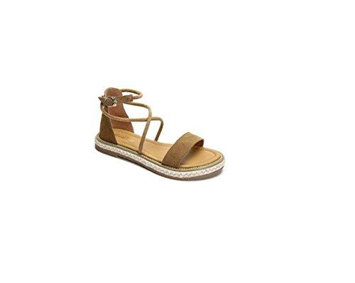 été Chaussures verrou Chaussures toe chancletas plage 36 Marron Sandales Femme vert Chaussures et Sandales peep de de rwfFrOzxq