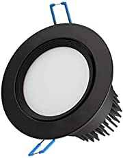LED Recessed Downlight Ultra Bright Adjustable Angle Led Panel Downlight Lamp COB Ceiling Spot Light Aluminum Anti-glare Ceiling Recessed Lights Indoor Lighting Mall Hotel Living Room Corridor Aisle F