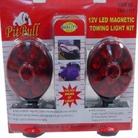 Pit Bull CHIL003 Pit Bull CHIL003 12V LED Magnetic Towing Light Kit Set of Tow Brake Lights