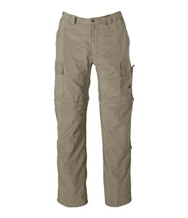 The North Face Pantaloni lunghi Meridian Convertible Beige S  Amazon ... ba0d4d7b8bd6