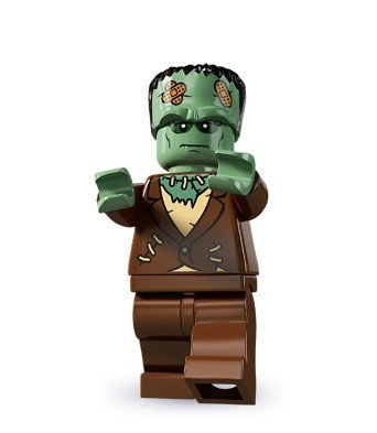 LEGO Monster Fighters Minifigure - Frankenstein Monster Halloween (9466)]()