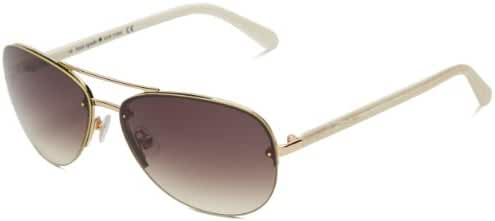 Kate Spade Women's Beryls Aviator Sunglasses