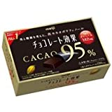 明治製菓 チョコレート効果カカオ95%BOX 10箱(5箱入×2)