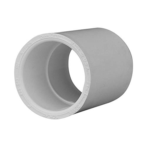 Pvc Pressure Pipe Fittings - Charlotte Pipe 1 SCH 40 Coupling Sxs Contractor Pack PVC Pressure (10 Unit Pack)