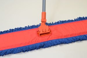 Dust Mop Frame Clip-On with Plastic Handle (Box of 12) 100% Made in USA by Briarwood (Image #1)