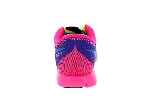 Nike Kids Free 5.0 (grande) Viola / Rosa / Arancione / Blu / Verde