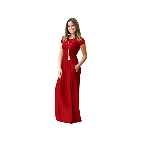 e9bf5245fb XMNDS Women s Maxi Dresses Skull for Women tie for Women red Wedding 80s  Prom for Women tparty for Women Halter Jeans Abaya for Women XL Long 1940s  for ...