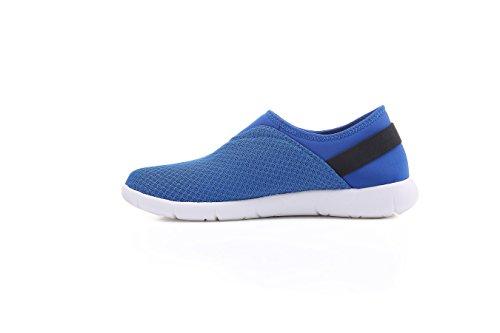 Uin Heren Verona Ademende Mesh Doek Comfort Schoenen Blauw