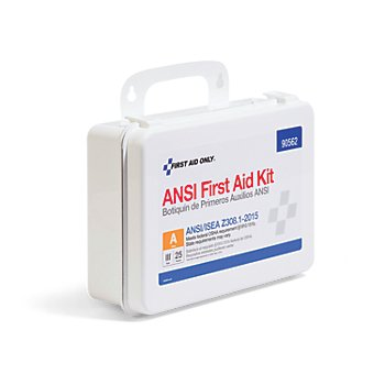 ANSI-Compliant First Aid Kit (178 Pack)
