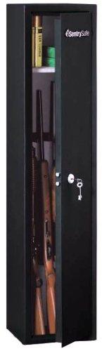 SentrySafe G0135 Black Safe 5 Long Gun Maximum Capacity Safe, 3.5 Cubic Feet, Black