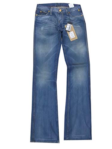 Donna Nicole taglia Zampa Meltin' bootcut Blu Jeans pantaloni Pot W25 bassa Elefante vita azzurri AwqqtR