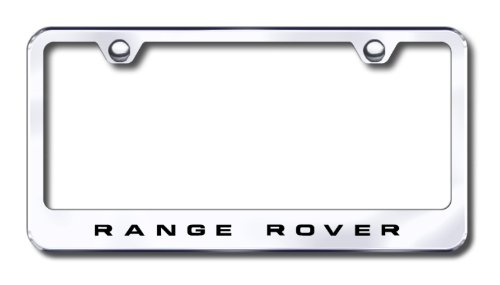 amazoncom land rover range rover custom license plate frame automotive