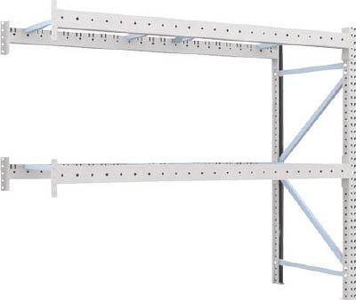 トラスコ中山 (TRUSCO)  重量パレット棚2トン2300×900×H2000連結 2段 2D20B23092B  B002NBB79M