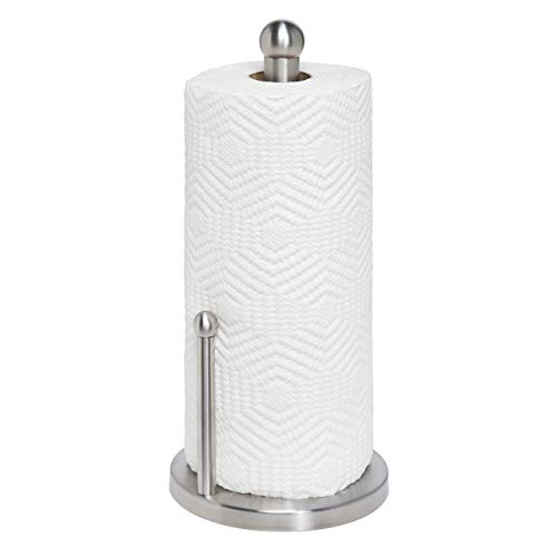 (Honey-Can-Do KCH-01077 Stainless Steel Paper Towel Holder)