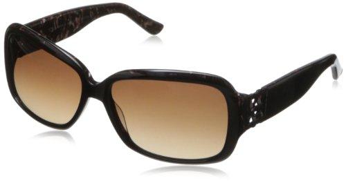 O by Oscar de la Renta Eyewear Women's SSC5114 Square Sunglasses,Brown,174 - Oscar By La O Sunglasses Renta De