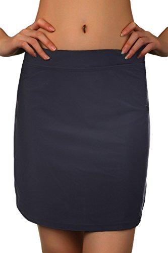 Micosuza Swim Skirts for Women Bikini Swim Bottoms Full Coverage Sun Protective (Figure Bikini)