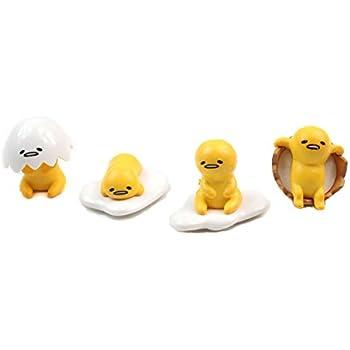 Amazon.com: 5x Gudetama The lazy Egg Danglers keychains ...