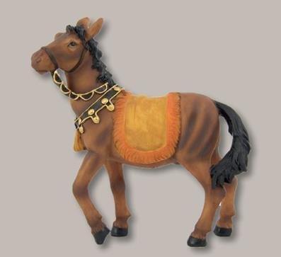 Miniatur Modell Figur Pferd Höhe 15cm geeignet für 12-15cm Figuren Zisaline