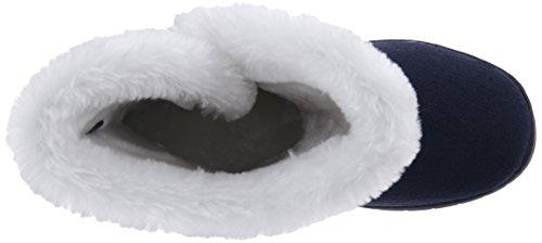 Dawgs Da Donna Da 9 Pollici Con Bottoni In Microfibra Invernale Boot Navy