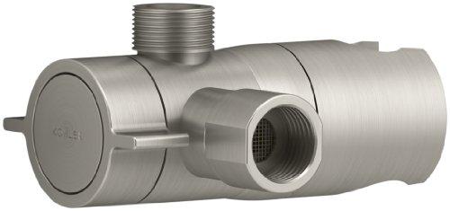 KOHLER K-98770-BN Persona Two-Way Shower Arm Diverter,Brushed Nickel (Diverter Nickel Polished)