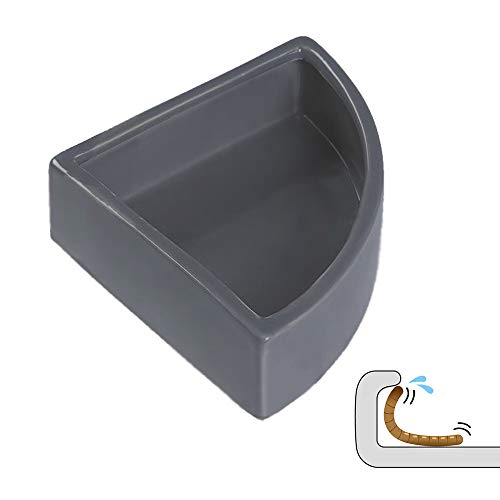 DC ADYOU Reptile Corner Feeding Dish Ceramic Food and Water Bowl no Escaping