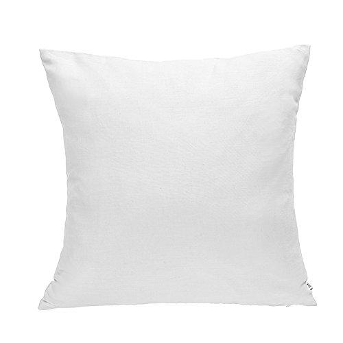 DOZZZ Premium Hypoallergenic Stuffer Pillow Insert Sham Square Form Cushion Polyester, 16