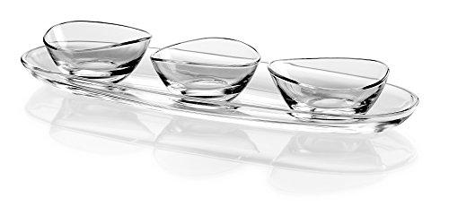 Barski European Glass - Oval - Serving Tray - Platter - 19.5