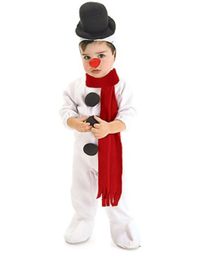 Snowman Costumes Toddler (Rubie's Costume Co Snowman Costume, Toddler, Toddler)