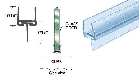 Polycarbonate Bottom Rail Wipe Glass