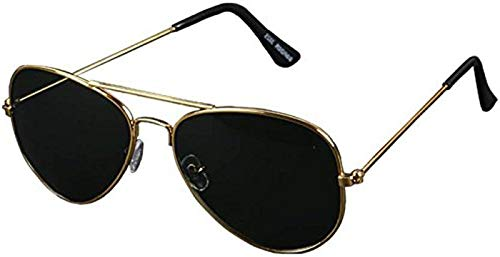 Elegante Golden Aviator Sunglass for Men