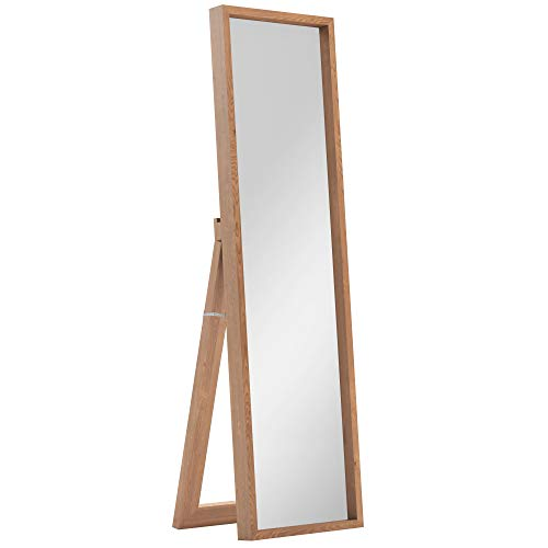 Simpli Home AXCMKEN-N Kenna 64 inch x 18 inch Rectangular Contemporary Standing Shadow Box Décor Mirror in - Mirror Box Shadow Contemporary