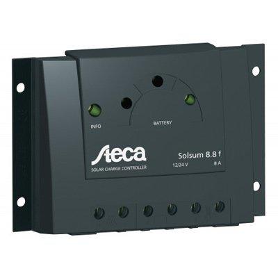 Steca 8.8F Solsum 8 Amp Charge Controller 12/24 Volt PWM LVD