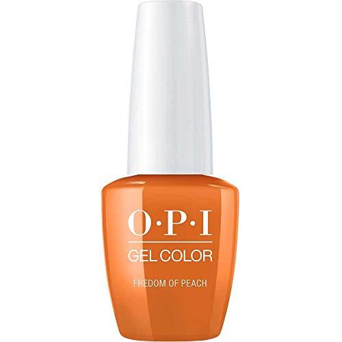 OPI GelColor, Freedom Of Peach, 0.5 Fl. Oz. gel nail polish