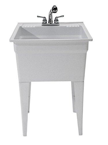 CASHEL 1960-32-02 Heavy Duty Sink - Fully Loaded Sink Kit, Granite