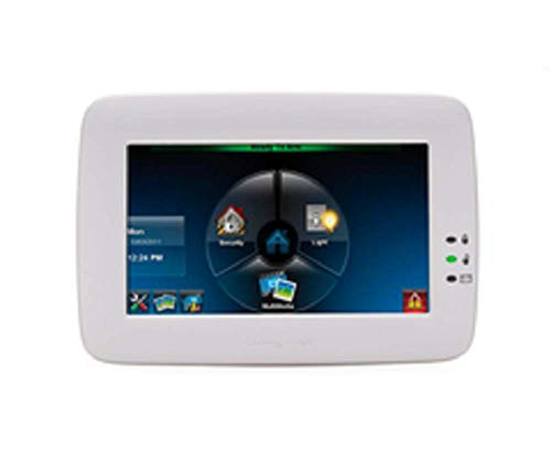 - Honeywell Ademco 6280W Color Touch-Screen Keypad w/ Voice, White