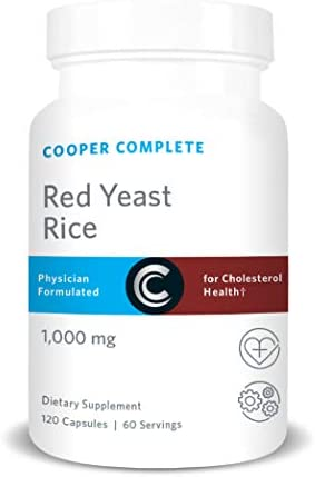 Cooper Complete Red Yeast Rice Supplement