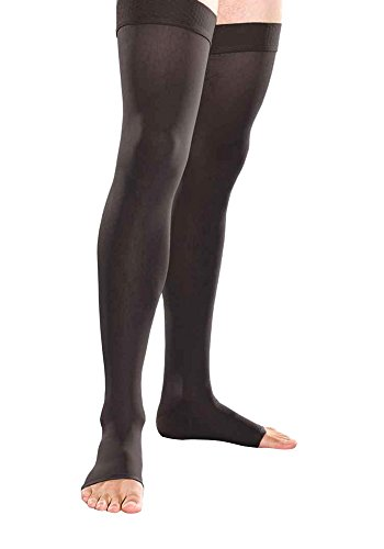 Therafirm Open Toe Thigh High Stockings