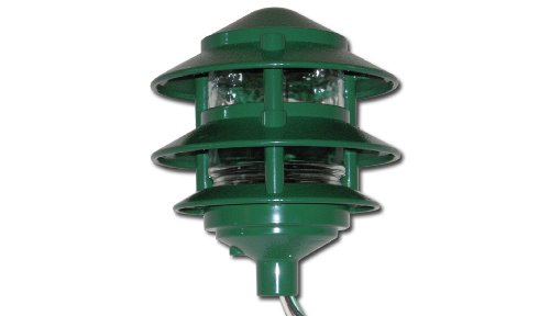 Made in USA Weatherproof Path Light - Green