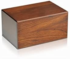 Small Economy Wooden Urn Box