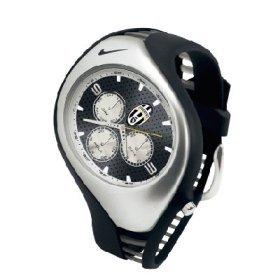 Nike Triax Swift 3i Analog Juventus Club Team Watch - Black/Black - WD0001-001
