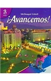 Amazon avancemos cuaderno para hispanohablantes student avancemos 3 tres student edition 2007 spanish edition fandeluxe Images