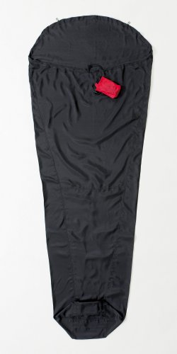 RIPSTOP BLACK EXTRA LARGE COCOON MUMMYLINER EXPEDITION LINER