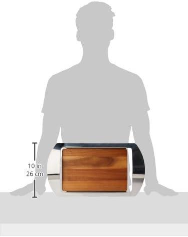 Nambe Mikko Bar Tray, 19-Inch by 10-1/2-Inch by 1-3/4-Inch