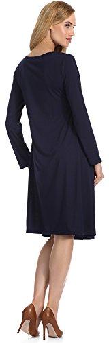 Merry Style Vestido para Mujer Samantha Nevy Azul