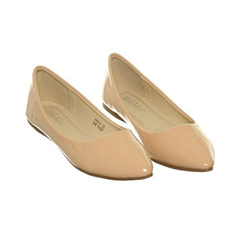 Womens Ballerina Flat Nudea51