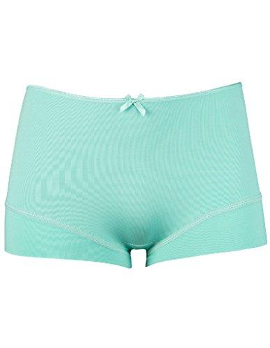 RJ Bodywear Pure Color Mint Ladies Short 31-008 2XL