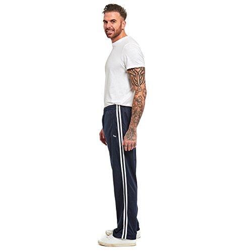 Aperto Sport Blu Da E On Per Uomo Comodi Vita Orlo Casual Stripe Tuta Elasticizzata Tempo Libero Myshoestore Pull Palestra Con Yoga Pantaloni 1TfqPBnw