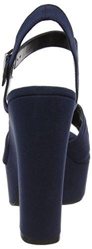 New Look Wide Foot Triumphant - Tacones Mujer azul (marino)